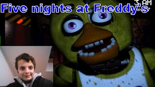 Guilhem joue à Five nights at Freddy