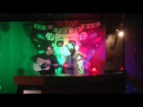 LANDSLIDE   - Mark and Chloe at The Karman Bar