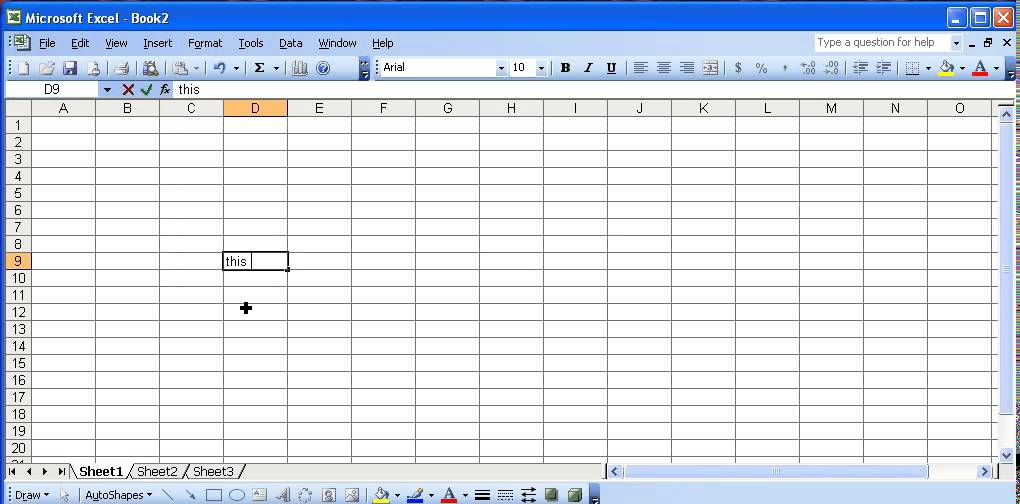 Create template in excel 2010