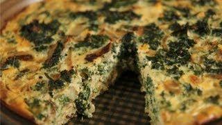 Kale & Quinoa Crustless Quiche: Healthy Recipe