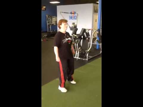 The Zig Zag hip exercise