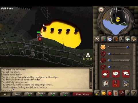Old School RuneScape – Wilderness Agility Course Guide – 52-70 Agility