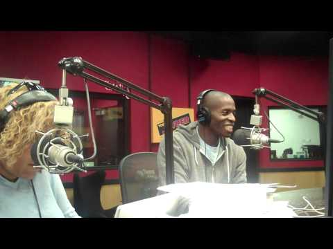 Comedian Godfrey on the Tom Joyner Morning Show