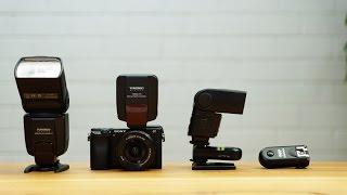 Manuelle Blitze an Sony Systemkameras verwenden - Yongnuo RF 603 - YN560 TX - YN560 III