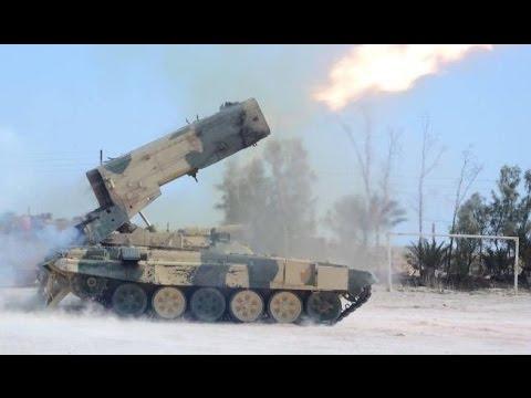 Буратино ТОС 1 в Сирии. Откуда у ИГИЛ российское оружие