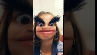 Funny Face With Eyebrows
