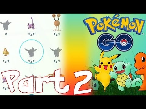 HOW TO TRACK POKEMON AND HOW TO THROW POKEBALL IN POKEMON GO   LET'S PLAY POKEMON GO PART 2
