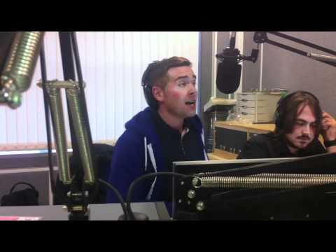 Mr James performing 'Heartbeat' Live on 7 Waves Radio