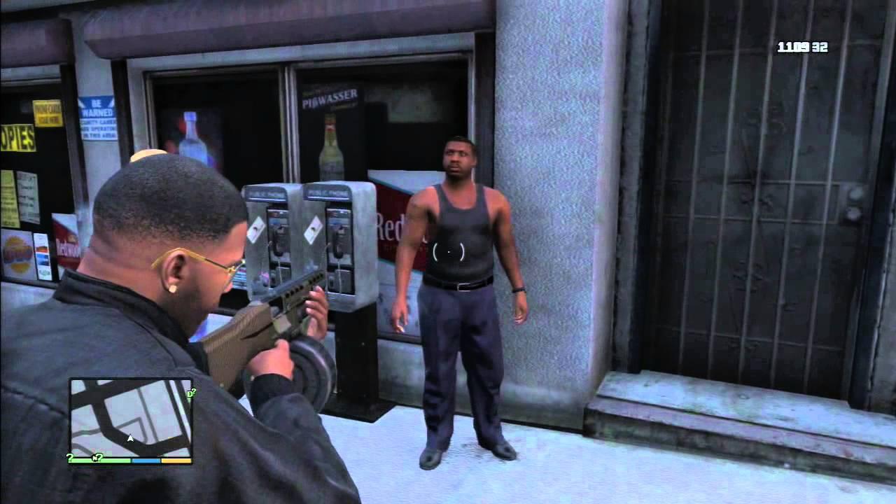 Gta Tv Show >> GTA 5 Franklin's Los Santos Gang Kill Compilation - YouTube