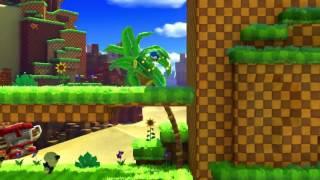 Sonic clásico en Green Hill Zone