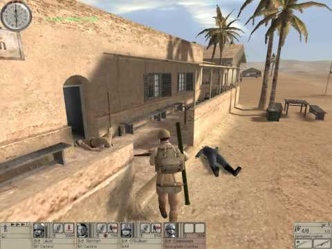 Hidden and Dangerous 2 walkthrough: mission 5: africa 1 [HD] (Fifth mission)
