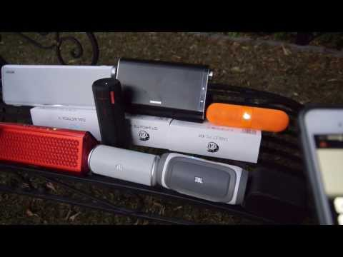 Bluetooth Speakers Comparison 2013