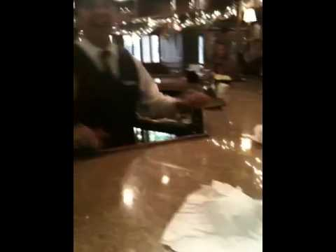 The bar ghost at the Driskill hotel in Austin Texas