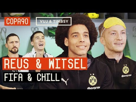 Blindfold FIFA and Chill ft Reus vs Witsel | Borussia Dortmund Special with Puma Football