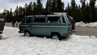 4WD Volkswagen Van With CB Radio.  Doesnt Get Much Better Than That.