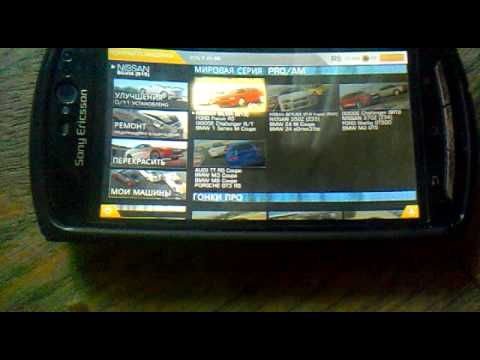 Review game Real Racing 3 on Sony Ericsson neo V
