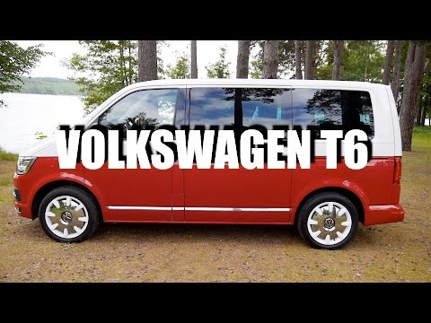 Volkswagen Transporter T6 (ENG) - Test Drive and Review