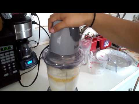 BAKING A POUND CAKE MIX in a blender!!