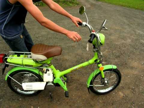 78 Green Honda Express - YouTube
