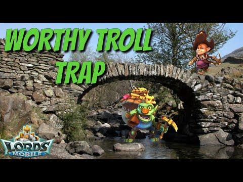 Solo Troll Trap - Lords Mobile