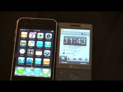 iPhone v. Windows Mobile (Touchscreen Wars)
