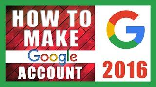 Create New Google Account Bangla Tutorial 2016 II  Create Gmail Account