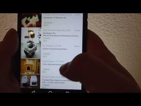 Wie Ebay Kleinanzeigen nutzen - Anleitung App Smartphone