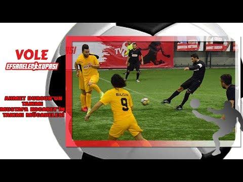 Vole Efsaneler Kupası | Ahmet Dursun'un takımı Mustafa Kocabey'in takımı mücadelesi