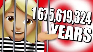Getting a BILLION YEARS in Bitlife Prison (I BROKE THE GAME)