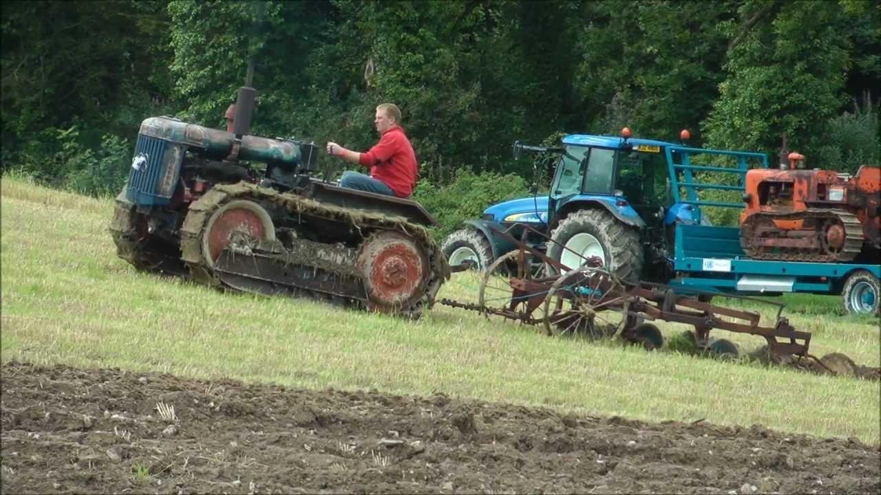 Fordson Crawler Tractor Youtube