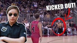 I GOT KICKED OUT OF THE ACE FAMILY BASKETBALL GAME (smh)