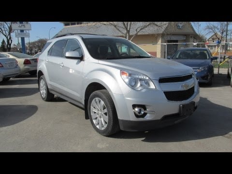 2010 Chevrolet Equinox LT V6 Start up, Walkaround and Vehicle Tour