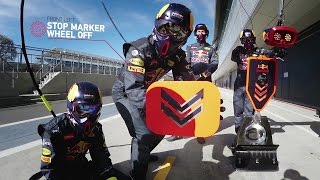 Red Bull Racing - Formula One Pit Stop Explained