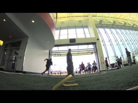 2013 Georgia Football Mat Drills