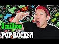 3 MILLION SUBSCRIBERS CELEBRATION!! with 3 Million Pop Rocks!
