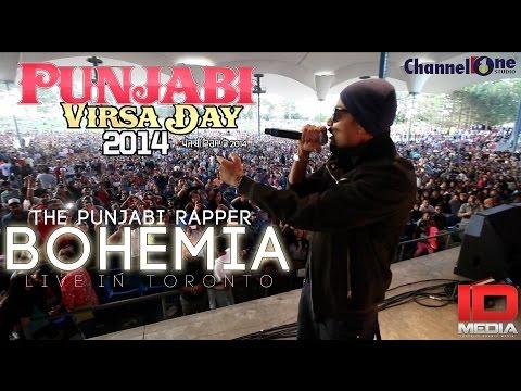 BOHEMIA | THE PUNJABI RAPPER | LIVE IN TORONTO | PUNJABI VIRSA...