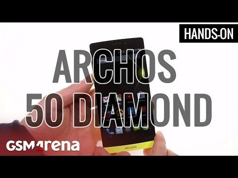 Archos 50 Diamond Hands-on