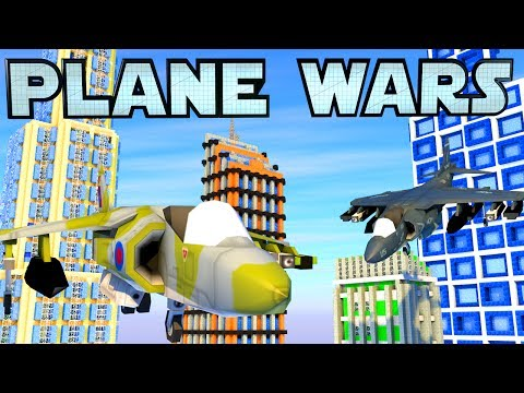 Minecraft War | PLANE WARS - British & American Harriers!