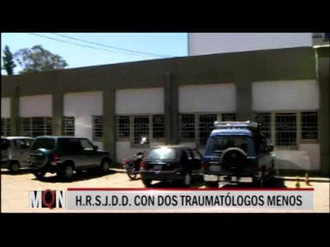 27-03-2015:17:00: H R S J D D  CON DOS TRAUMATÓLOGOS MENOS