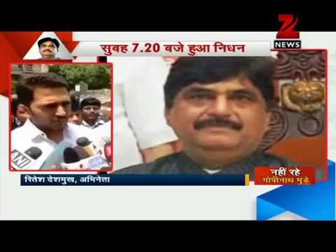 Maharashtra BJP unit seeks CBI probe into Gopinath Munde's death