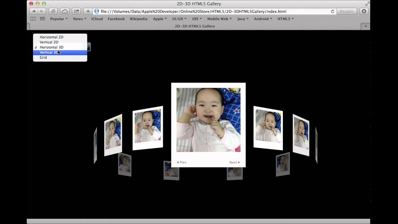 3d photo gallery html5 Free HTML 5 CSS and Bootstrap Templates - Page 1