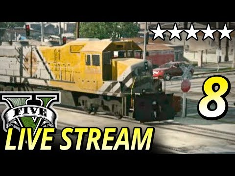 GTA 5 Online EPIC Train Riding & Racing Livestream - GTA 5 Gameplay W/ MY CREW