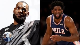 LeBron James' appearance in 'Space Jam 2', the cost of Joel Embiid's injury, more | Jalen & Jacoby