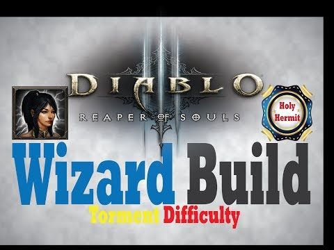 Diablo 3 RoS NEW WIZARD BUILD for Torment