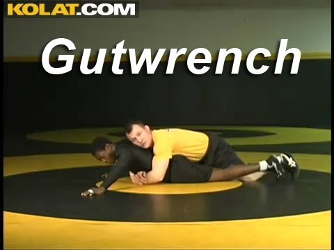 Gutwrench from Leg Lace KOLAT.COM Wrestling Techniques Moves Instruction Image 1