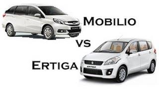 Honda Mobilio vs Maruti Suzuki Ertiga Face-Off