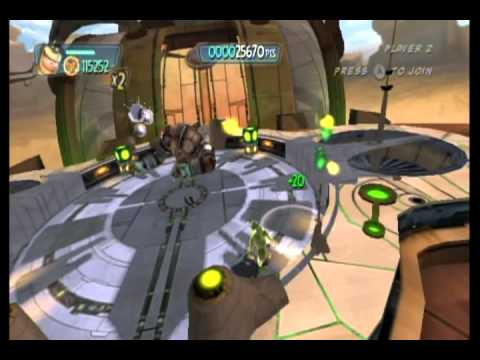 Monsters vs. Aliens Movie Game Walkthrough Part 15 (Wii)