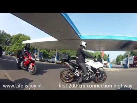EU motorbike trip with friends losing my driving licence in Luxembourg on BMW R1200GS lc