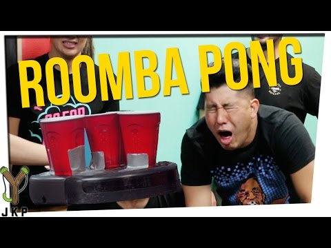 Roomba Beer Pong | NASTY SODA