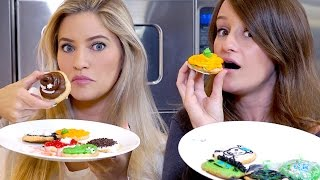 Halloween Cookie Decorating Challenge! | iJustine